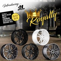 20X10 HUSSLA ROYALTY WHEEL PACKAGE