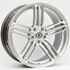19X8.5 AG RS-6 SILVER AUDI STYLE WHEEL