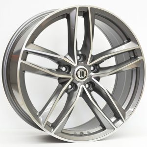 20X9 AG BLADE WHEEL TITANIUM GREY MACHINED
