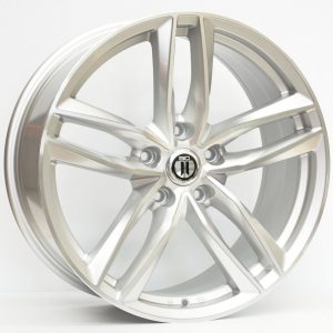 20X9 AG BLADE WHEEL SILVER MACHINED