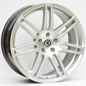 18X8 AG RS4 WHEEL HYPER SILVER