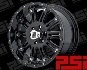 22X9.5 KMC HOSS WHEELS X4 RIMS ALLOYS COLORADO RANGER DMAX BT-50 HILUX