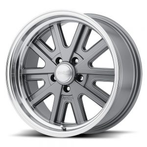 17X7 17X8 17X9 VN527 WHEELS 1-PIECE RIMS SHELBY COBRA OLD SCHOOL