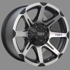 16X8	TUFF T05 WHEELS X4 RIM ALLOYS 4X4 COLORADO RANGER BT50 HILUX DMAX JEEP
