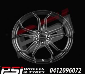20x8.5	HUSSLA ROYALTY WHEELS 4X RIMS HOLDEN FORD MAZDA TOYOTA SUBARU