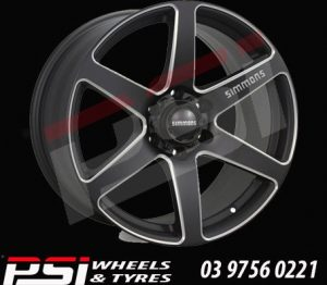20X9	SIMMONS S6S WHEELS RIMS ALLOYS
