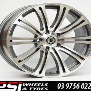 18X8	AG BM350 BMW STYLE WHEELS RIMS M5 M3 3 SERIES 5 SEIRES