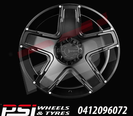 16X8	ADVANTI MAMBA 13 WHEELS COLORADO RANGER BT50 DMAX HILUX
