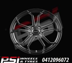 20X10	HUSSLA ROYALTY WHEELS RIMS HOLDEN FORD MAZDA TOYOTA SUBARU