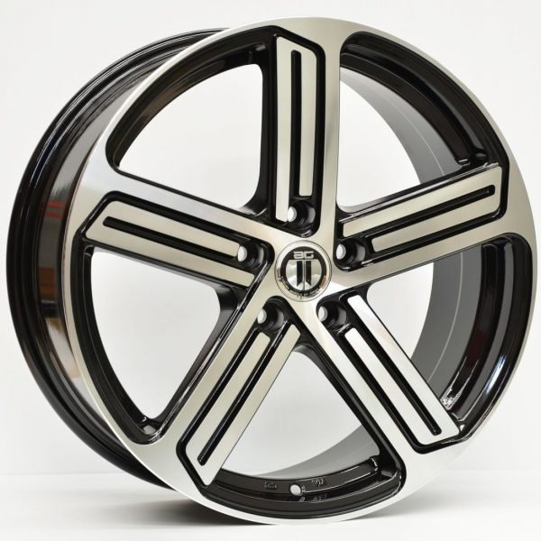 17X7.5	AG R-SPEC VW STYLE WHEELS RIMS VW GOLF GT GTI R SPEC