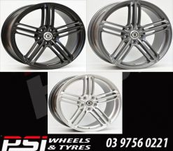 19X8.5	AG RS6 AUDI OR VW GOLF STYLE WHEELS GTI R Passat Audi A3 S3 A4