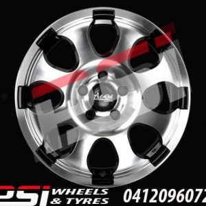 16X8	ADVANTI HAMMER WHEELS COLORADO RANGER BT50 HILUX NAVARA