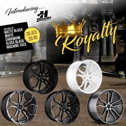 20X10 20x8.5	HUSSLA ROYALTY WHEELS RIM HOLDEN FORD MAZDA TOYOTA SUBARU