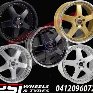 17x7 17X8.5 17X9.5	SIMMONS FR WHEELS RIMS x4 GENUINE FR1