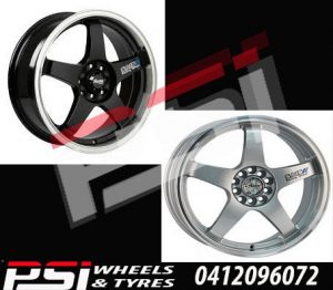 15X6.5 17X7 18X7.5	ADVANTI SA15 WHEELS JDM