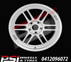 19x8	ENKEI RPF1 WHEELS RIMS SKYLINE ACCORD EVO COMMODORE BMW AUDI 86 GT