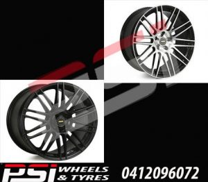 20X8.5 & 20X10	SIMMONS OMC WHEELS HOLDEN FORD HSV FPV