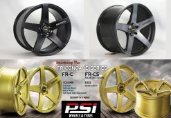 20X8.5 20X10GENUINE SIMMONS FRC CONCAVE WHEELS & TYRES FR HOLDEN FORD