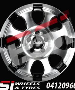 18X8	ADVANTI HAMMER WHEELS COLORADO RANGER BT50 HILUX ISUZU