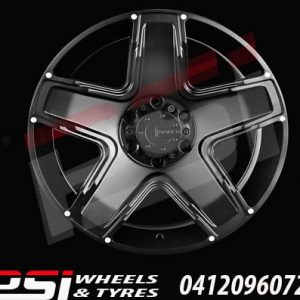 15X8	ADVANTI MAMBA 13 WHEELS 45P COLORADO RANGER BT50 DMAX HILUX