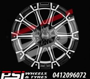 20X9	ADVANTI GORILLA WHEELS HILUX BT50 RANGER COLORADO DMAX