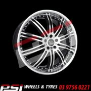 19X8.5 19X9	SSW PHANTOM WHEELS STAGGERED FORD HOLDEN BMW