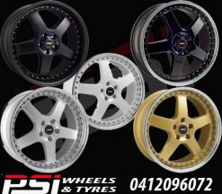 19X8.5 & 19X9.5 SIMMONS FR-1 WHEEL PACKAGE