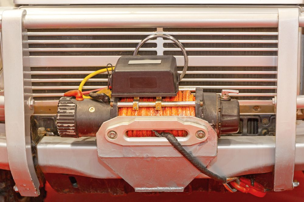 4WD winches